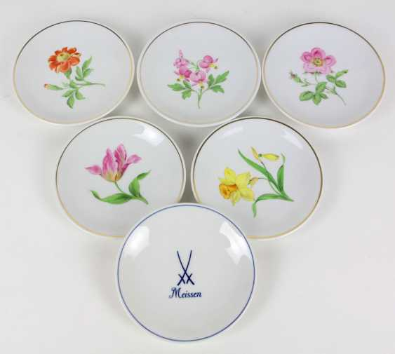 Meissen set of wall plates *flower 1*, etc. - photo 1