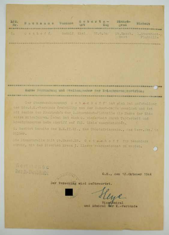 Hartmann, Werner / Heye, Hellmuth. - photo 3
