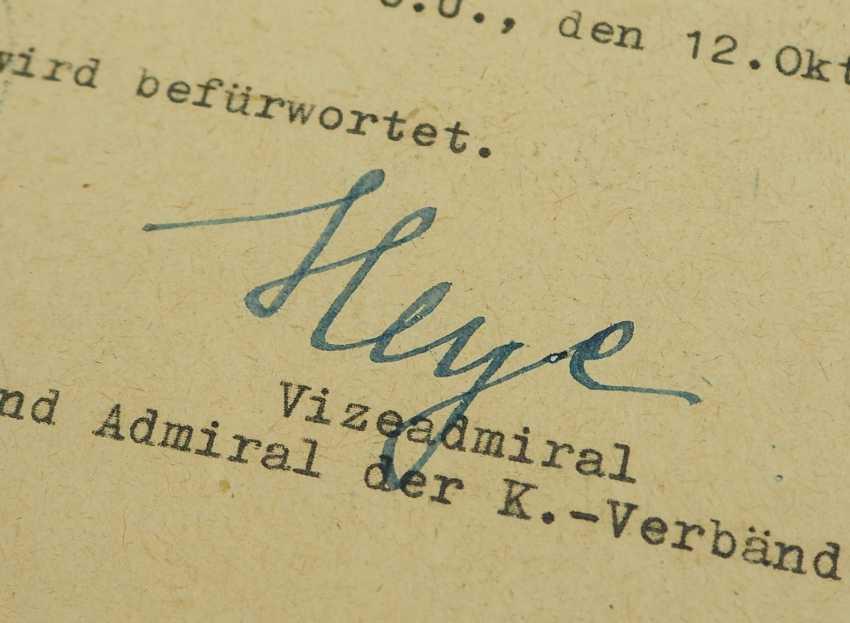 Hartmann, Werner / Heye, Hellmuth. - photo 4
