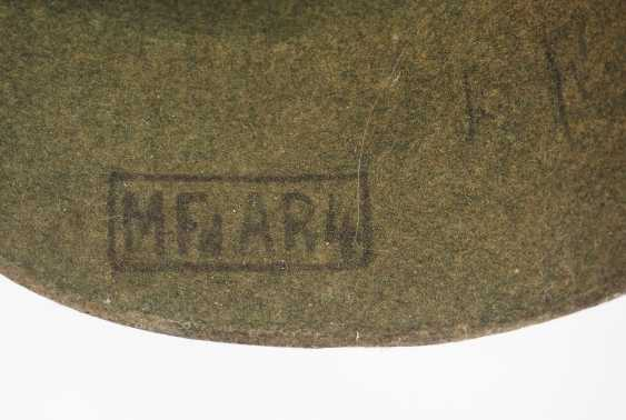 Prussia: field grey replacement Pickelhaube made of felt, for teams of artillery - photo 6