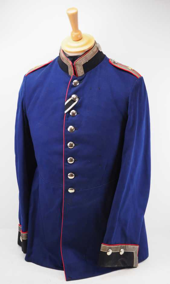 "Prussia: uniform jacket of an officer representative of the 1. Battery, Fußartillerie-Regiment ""Encke"" (Magdeburg, Spanish) No. 4. - photo 1"