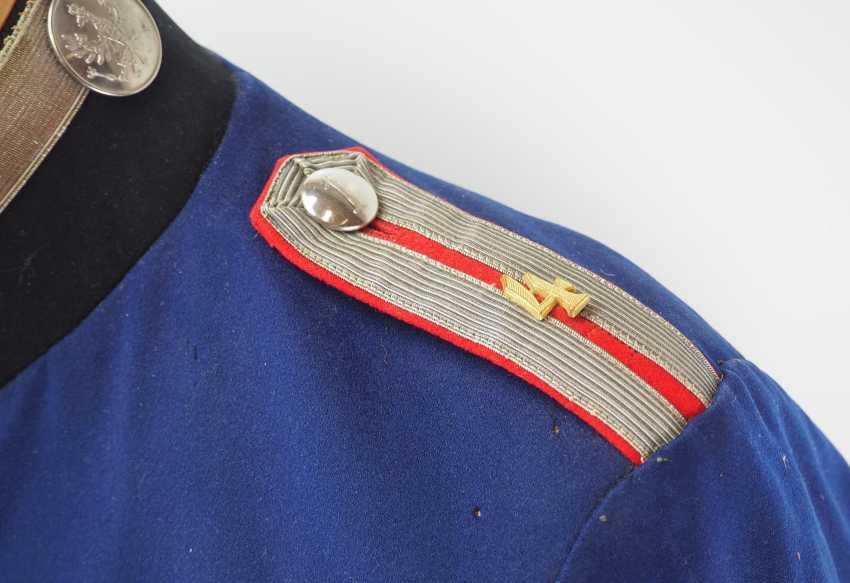"Prussia: uniform jacket of an officer representative of the 1. Battery, Fußartillerie-Regiment ""Encke"" (Magdeburg, Spanish) No. 4. - photo 2"