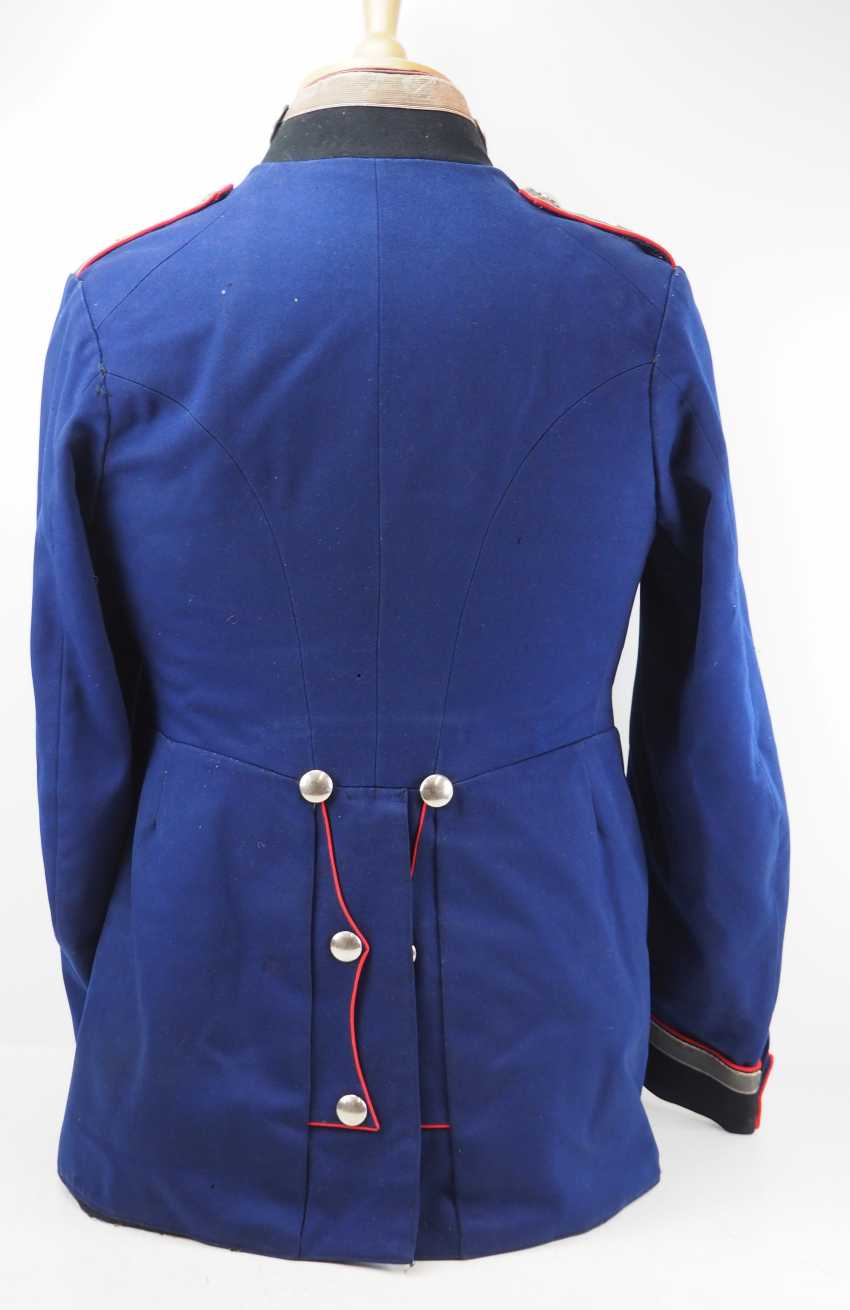 "Prussia: uniform jacket of an officer representative of the 1. Battery, Fußartillerie-Regiment ""Encke"" (Magdeburg, Spanish) No. 4. - photo 4"