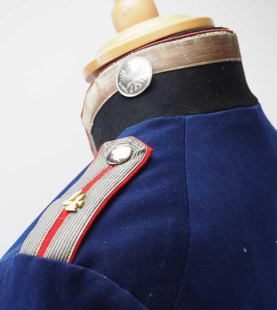 "Prussia: uniform jacket of an officer representative of the 1. Battery, Fußartillerie-Regiment ""Encke"" (Magdeburg, Spanish) No. 4. - photo 5"