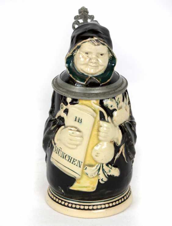 Münchner Kindl jug around 1880 - photo 1