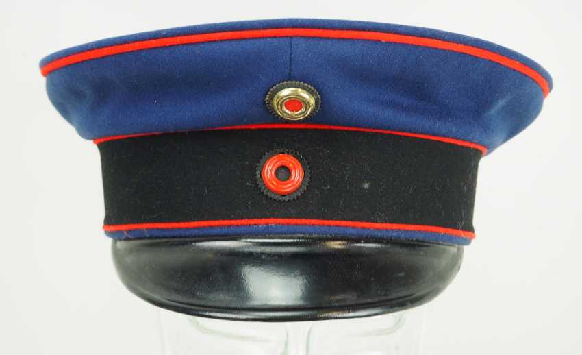 Wuerttemberg: peaked cap for officers of the artillery. - photo 2