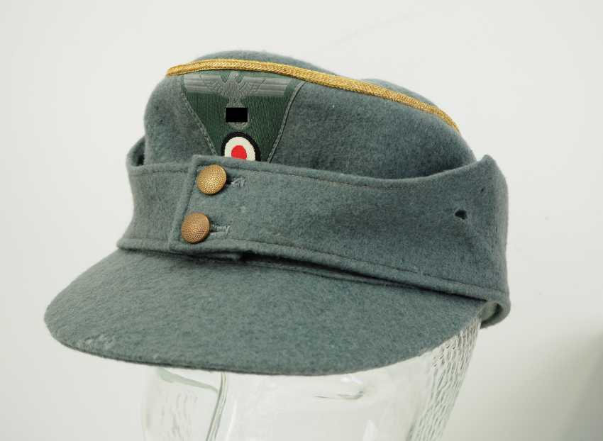 Wehrmacht: field cap M43 for Generale. - photo 1