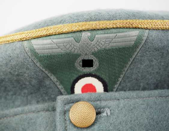 Wehrmacht: field cap M43 for Generale. - photo 3
