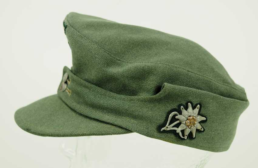 Wehrmacht: field cap for mountain hunters. - photo 2