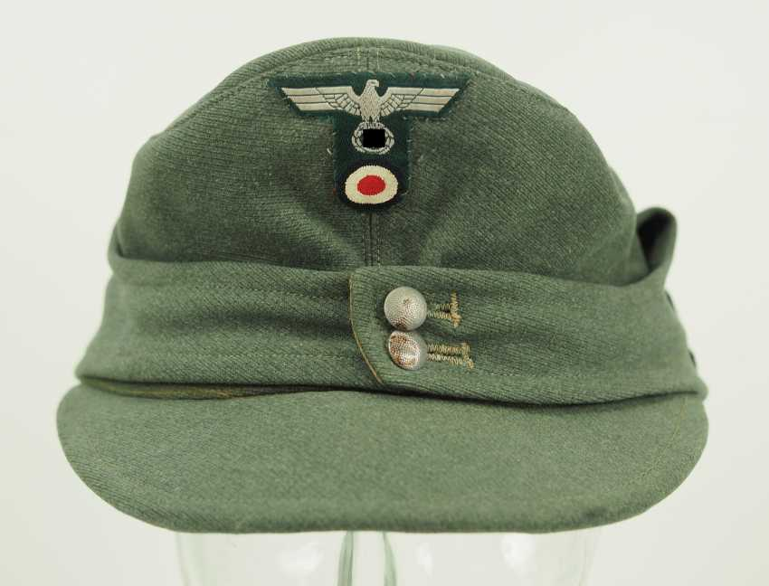 Wehrmacht: field cap for mountain hunters. - photo 3