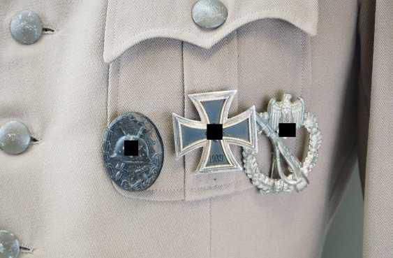 Wehrmacht: field blouse of a Sergeant in the mountain infantry Regiment 99. - photo 2