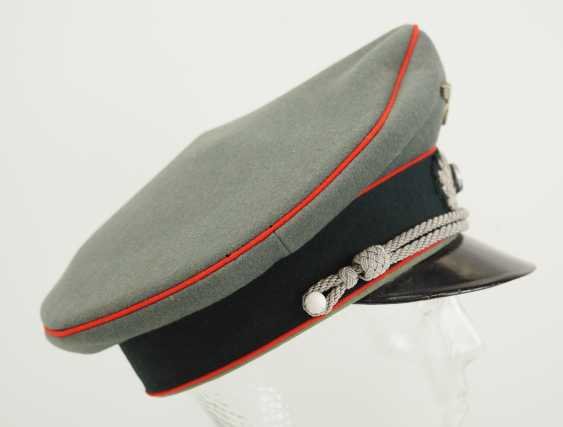 Wehrmacht: visor cap for officers of the artillery. - photo 3