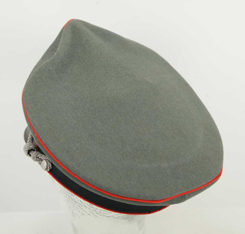 Wehrmacht: visor cap for officers of the artillery. - photo 4