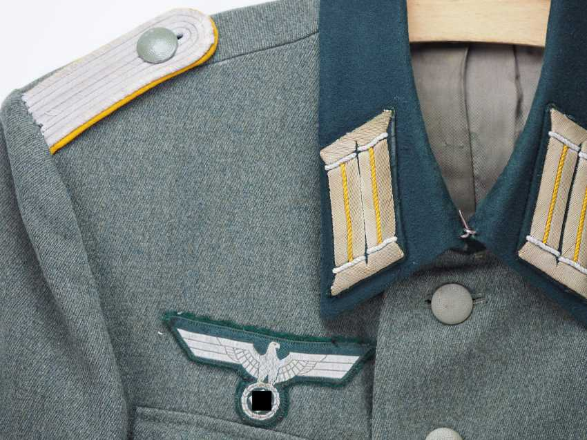 Wehrmacht: field blouse for a cavalry officer. - photo 2