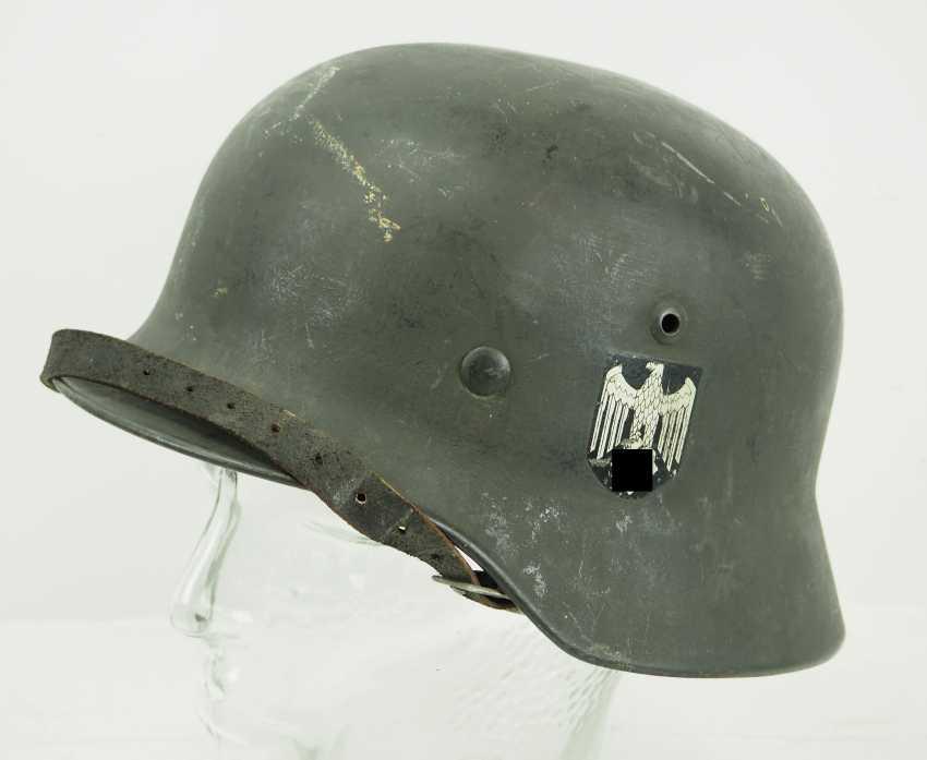 Wehrmacht Steel Helmet M35. - photo 1
