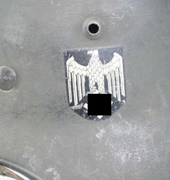 Wehrmacht Steel Helmet M35. - photo 2