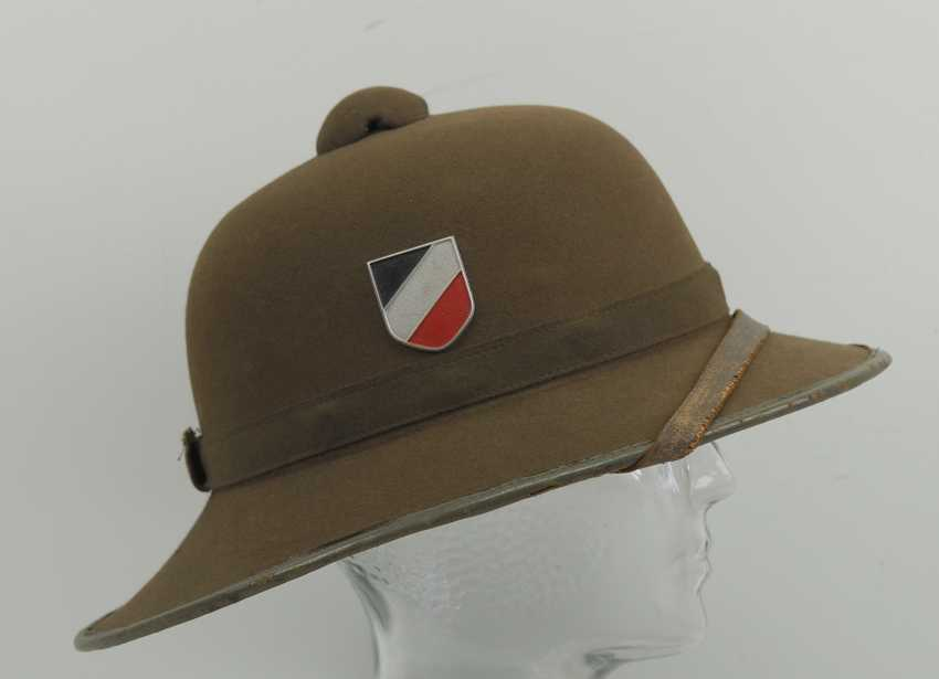 Wehrmacht tropical helmet of the Africa corps, 2. Model. - photo 2