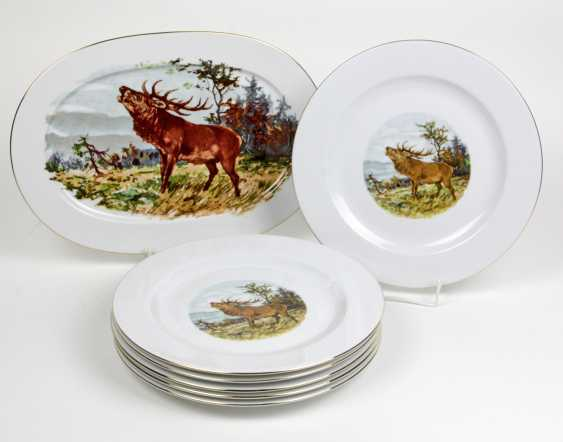 hunting plate set & plate - photo 1
