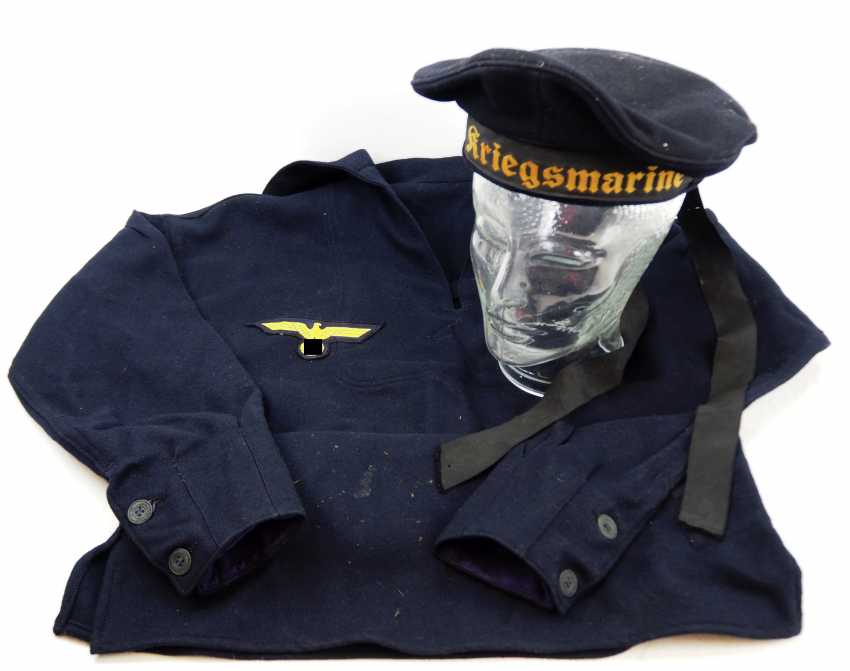 Navy: uniform ensemble for teams. - photo 2