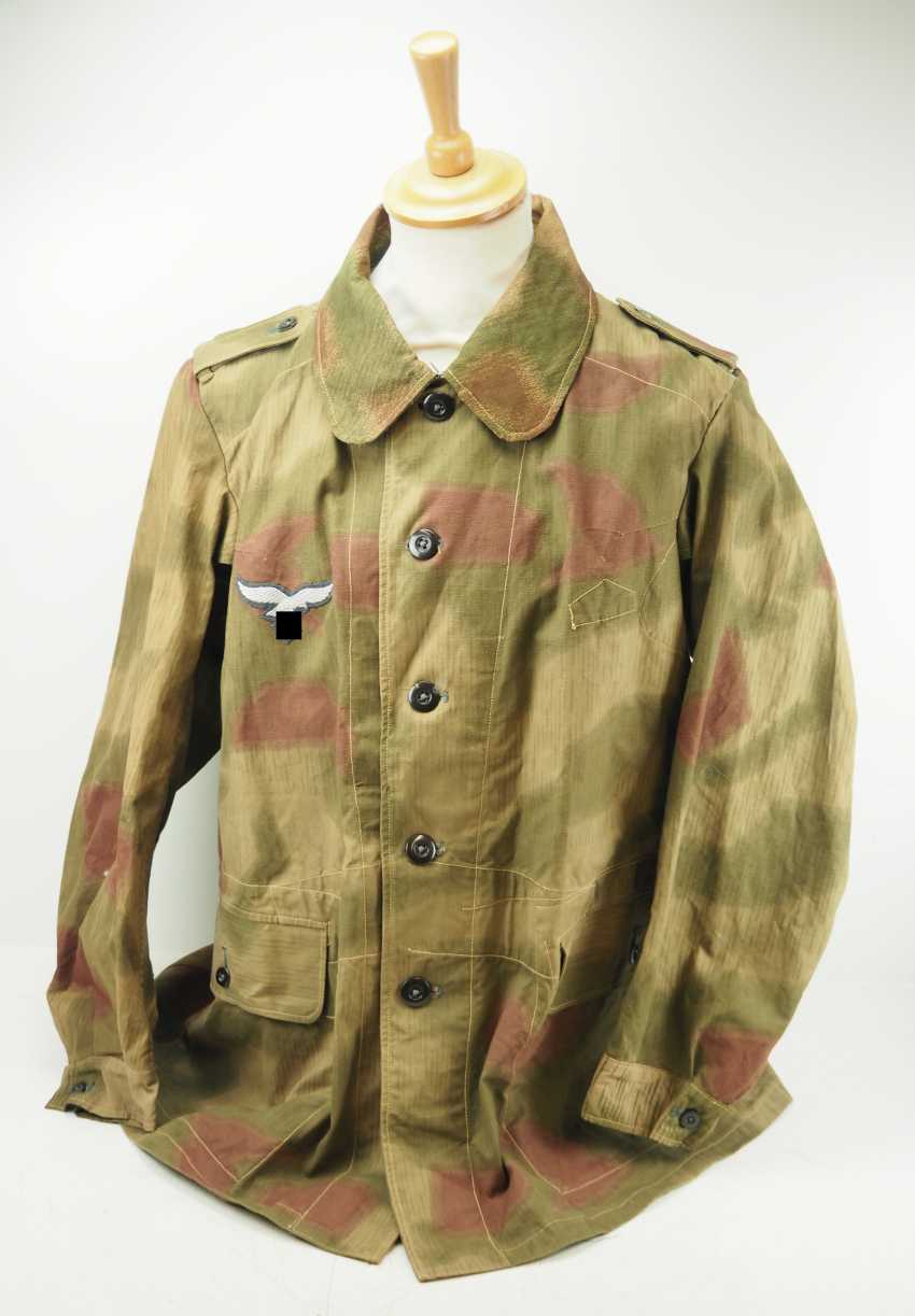 Air force: field blouse of the air force field divisions, swamp camo. - photo 1