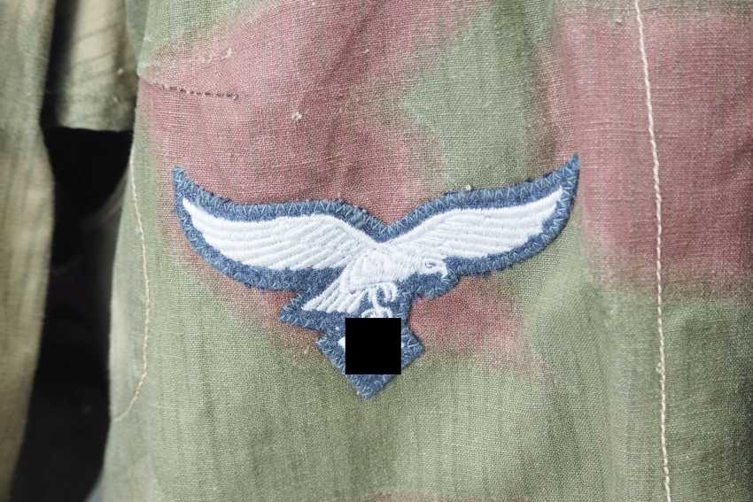 Air force: field blouse of the air force field divisions, swamp camo. - photo 2