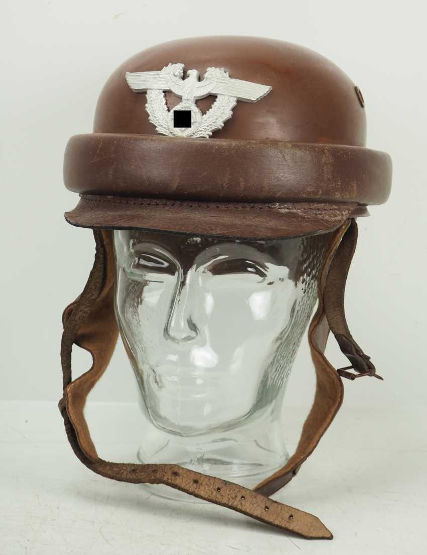 Gendarmerie: Motorcycle Helmet. - photo 2