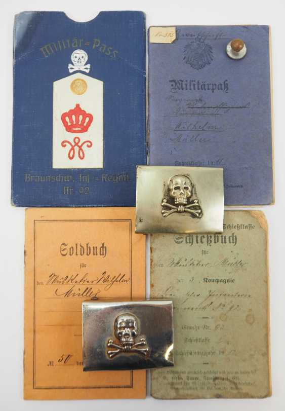 Braunschweig: the estate of a soldier of the Brunswick infantry Regiment No. 92. - photo 1