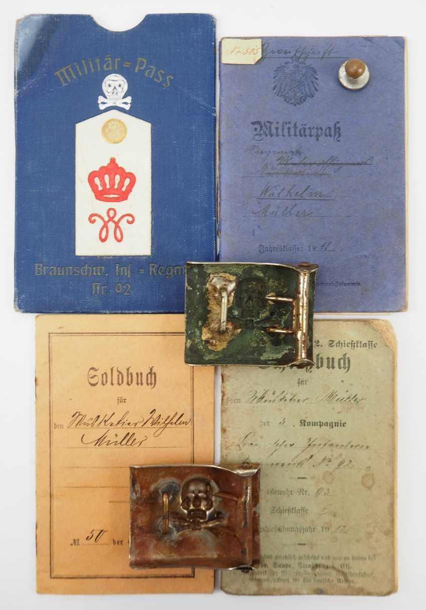 Braunschweig: the estate of a soldier of the Brunswick infantry Regiment No. 92. - photo 3