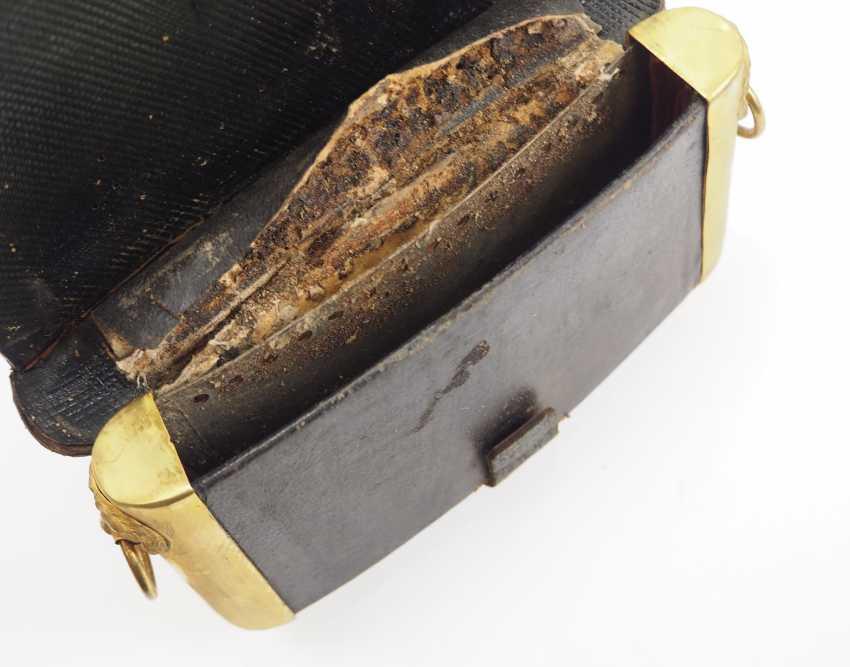 Hesse-Darmstadt: Officer's Cartridge Box. - photo 2