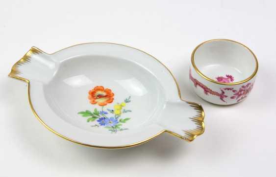 Meissen pick on & ash bowl - photo 1