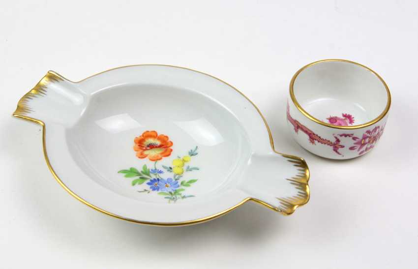 Meissen pick on & ash bowl - photo 1
