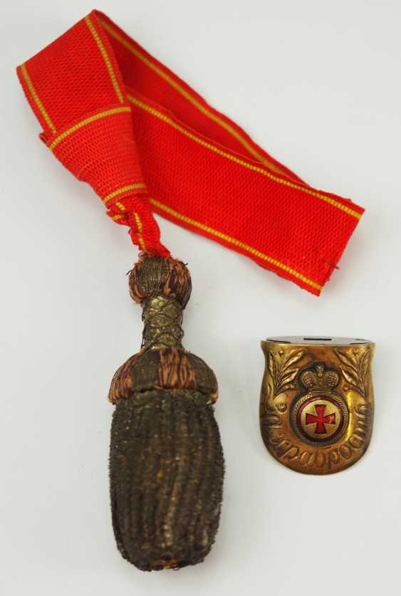 Russia: St. Anna order of honor weapons Portepee and Parierlappen for the naval dagger. - photo 3
