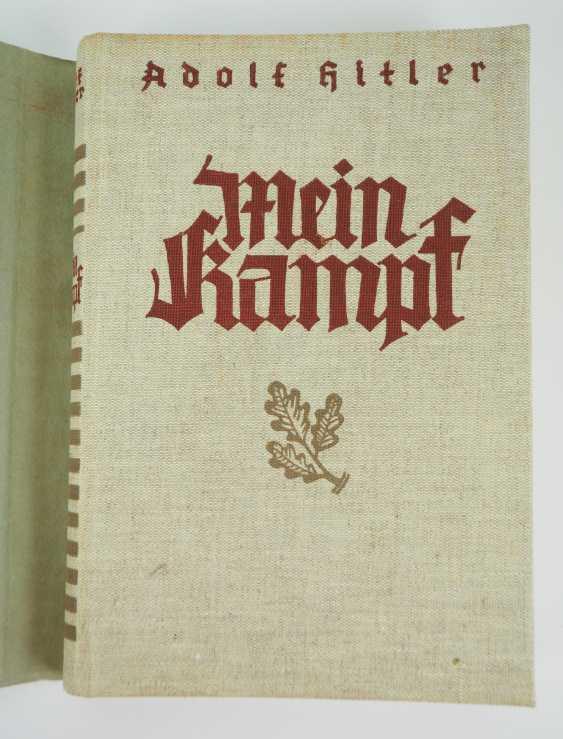 Hitler, Adolf: Mein Kampf - first edition in 2 volumes. - photo 2