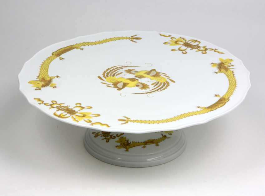 Meissen Cake Plate *Rich Hofdrache* - photo 1