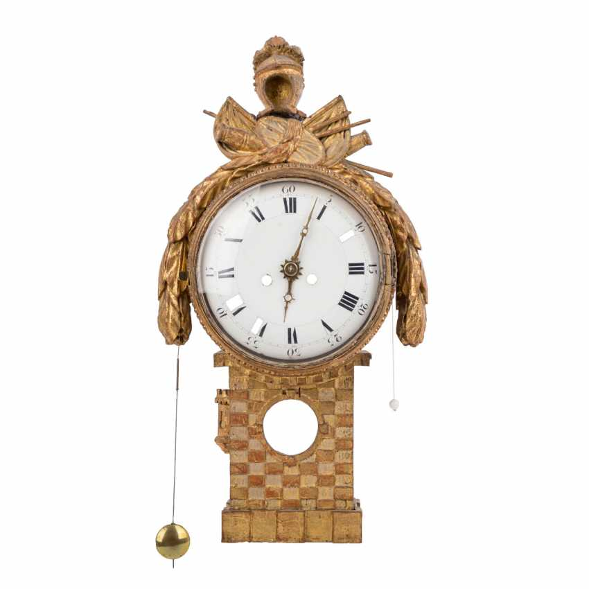 LOUIS XVI WALL CLOCK - photo 1