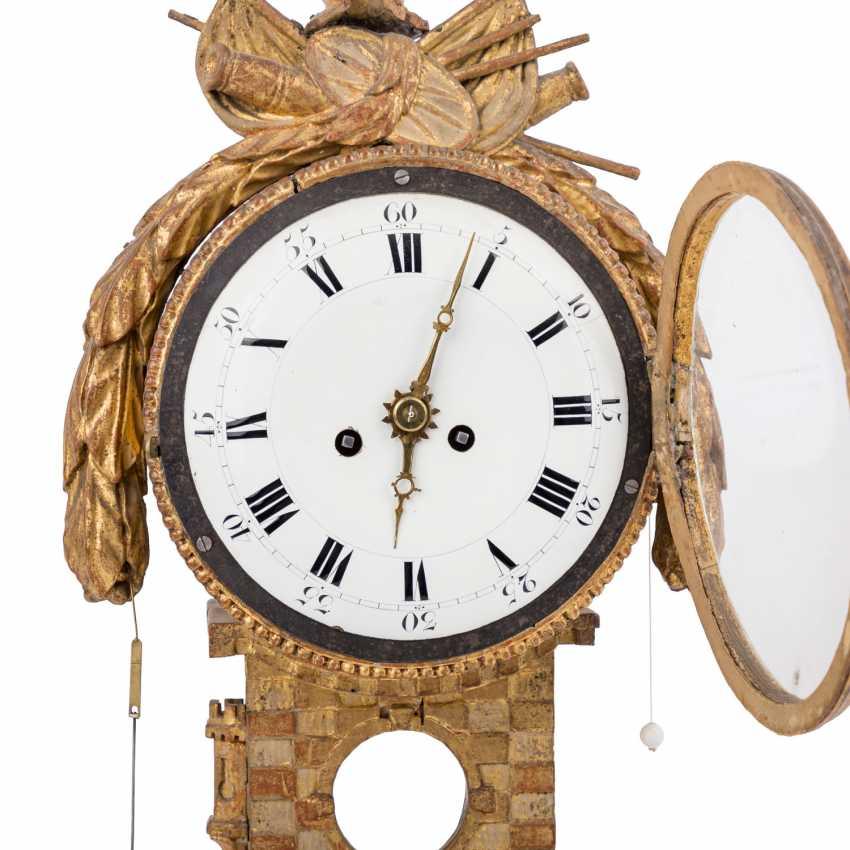 LOUIS XVI WALL CLOCK - photo 5