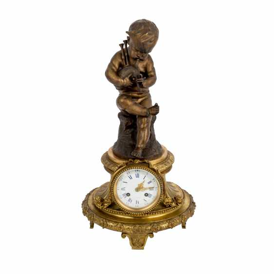 Large mantel clock IN LOUIS XVI STYLE - photo 1