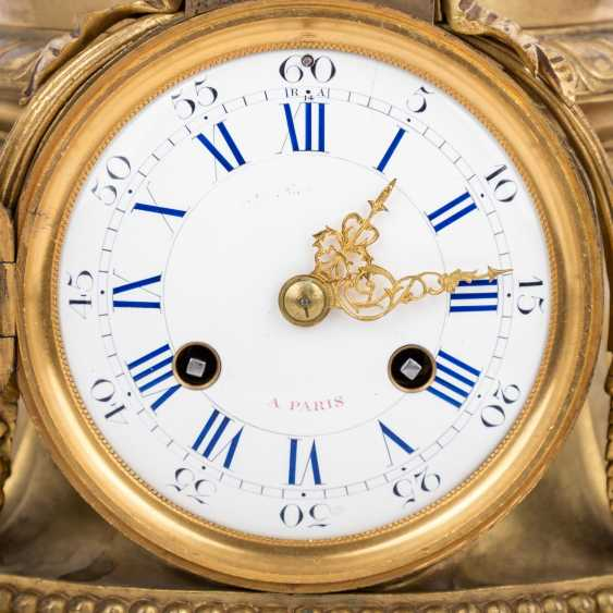 Large mantel clock IN LOUIS XVI STYLE - photo 5