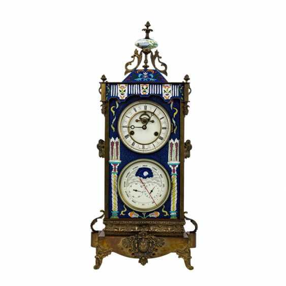 ASTRONOMICAL MANTEL CLOCK - photo 1