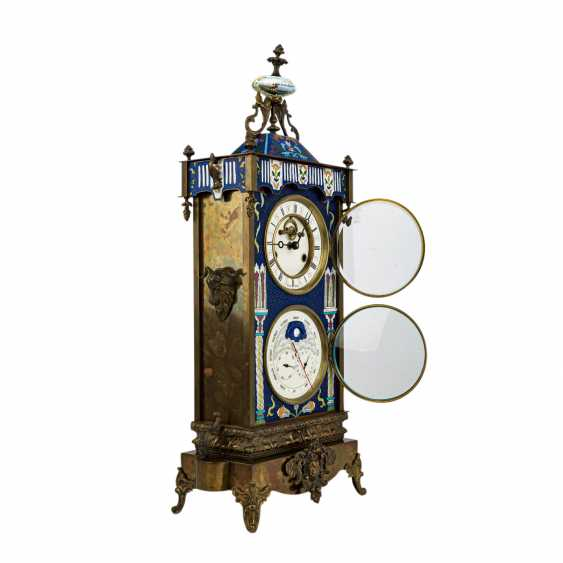 ASTRONOMICAL MANTEL CLOCK - photo 2