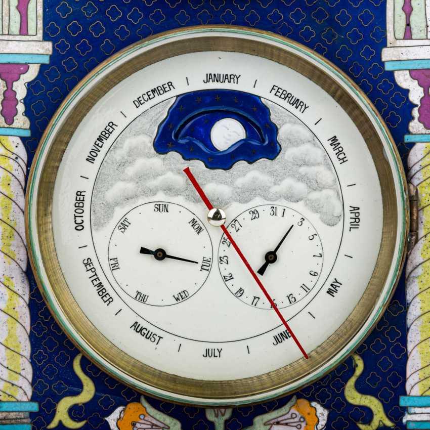 ASTRONOMICAL MANTEL CLOCK - photo 6