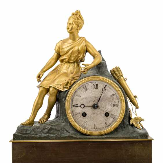 CHARLES X CLOCK WITH HUNTING GODDESS DIANA - photo 2