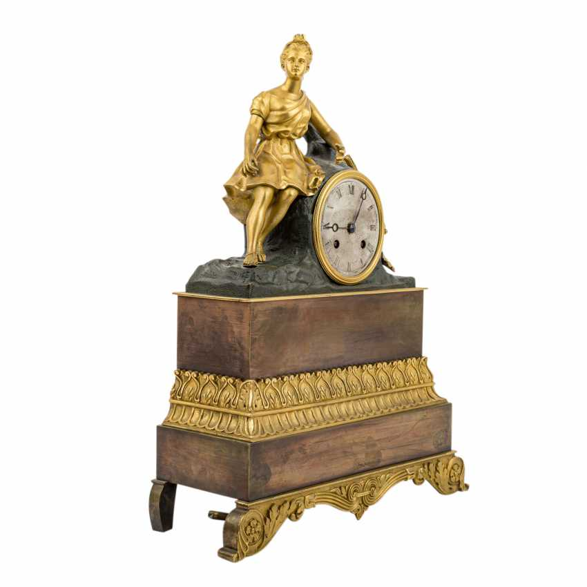 CHARLES X CLOCK WITH HUNTING GODDESS DIANA - photo 3