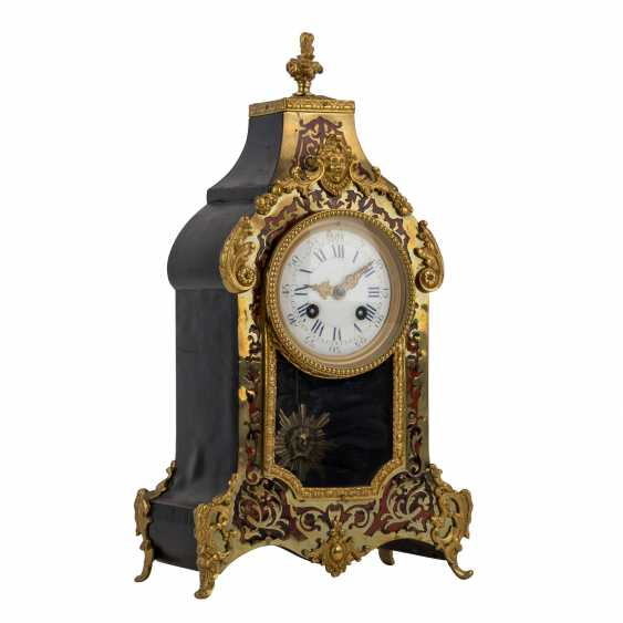 THE BOULLE MANTEL CLOCK - photo 1