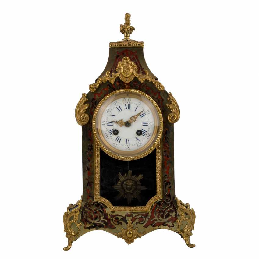 THE BOULLE MANTEL CLOCK - photo 2
