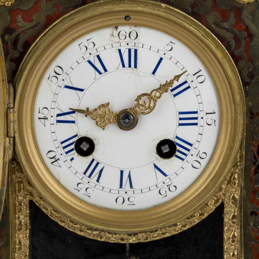 THE BOULLE MANTEL CLOCK - photo 6