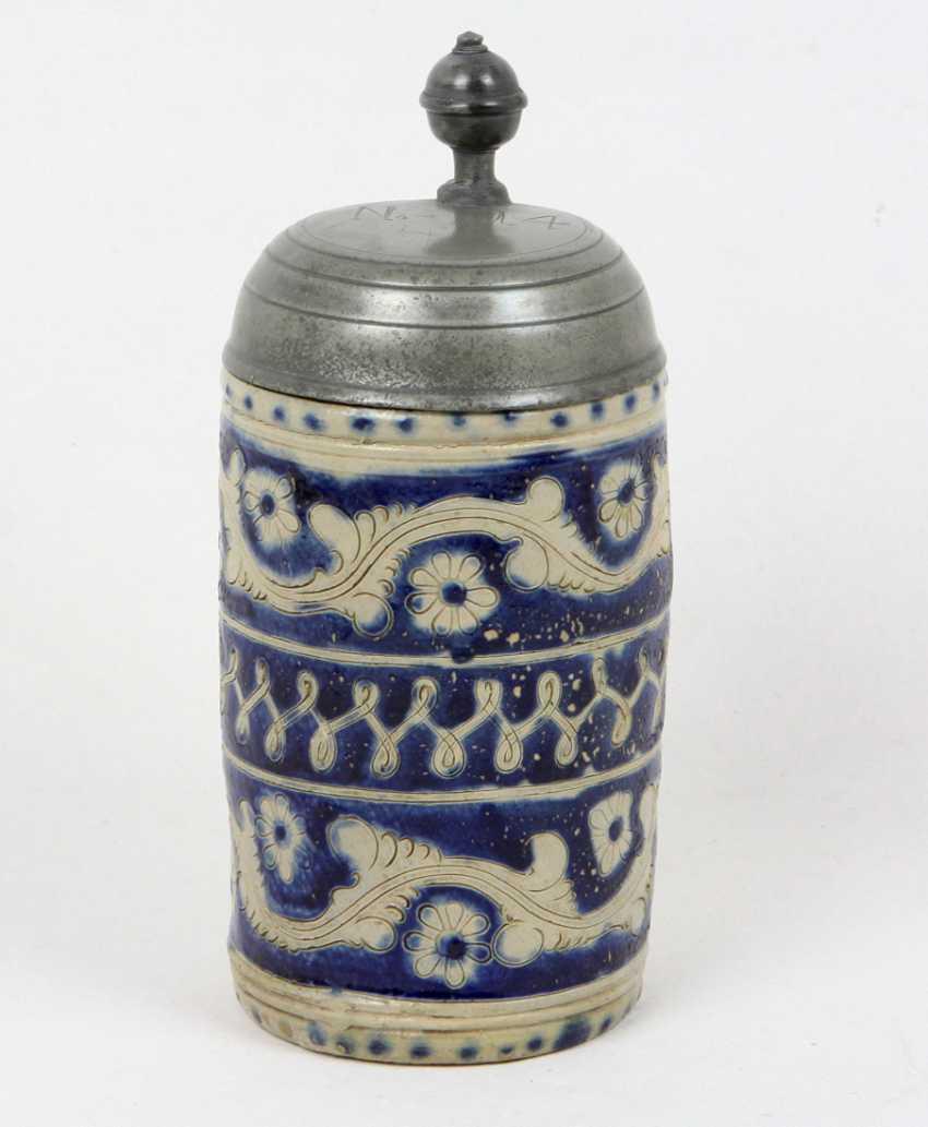 Biedermeier Ritz decor pitcher to 1840 - photo 1