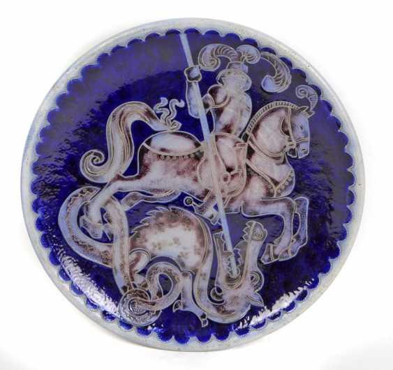 Ceramic plate Merkelbach around 1930 - photo 1