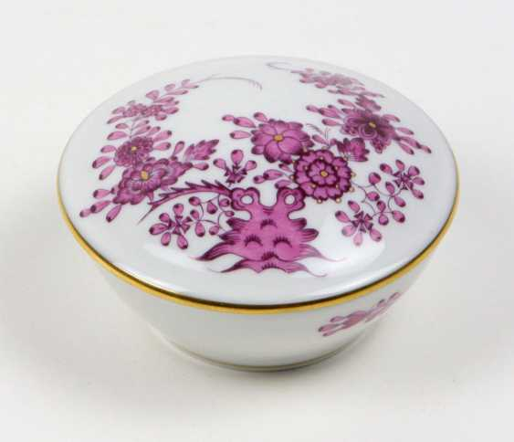 Meissen Lidded Box *Indian Painting* - photo 1