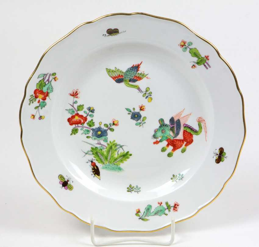 Meissen Dish *Indian Painting* - photo 1